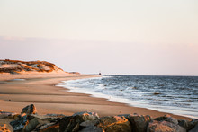 Coastal Sunrise Dunes Lighthouse