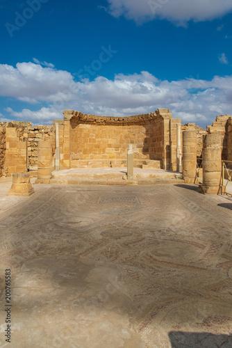 Staande foto Oude gebouw Ancient Nabatean city