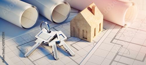 Poster Heuvel Konzept eigenes Heim - Planung