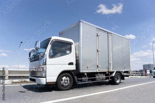 Cuadros en Lienzo 輸送トラック 箱車