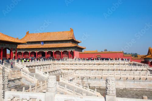 Deurstickers Peking The Forbidden City