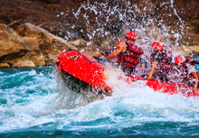 River Rafting In Rishikesh In River Ganges