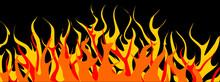 Dancing Flames - Vector Clipar...