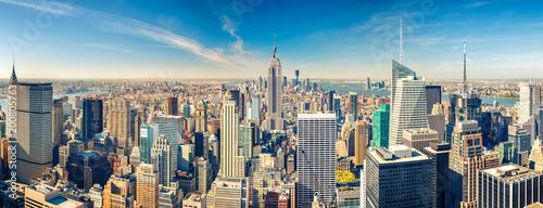 Door stickers New York New York City Manhattan aerial view