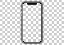 Iphone Screen Template. Mockup...