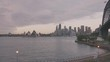 Sydney Harbor morning panning real time