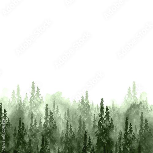grupa-akwareli-drzew-jodla