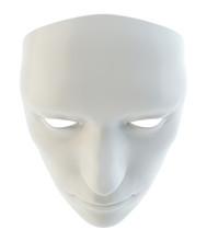 White Mask Similar To The Robo...