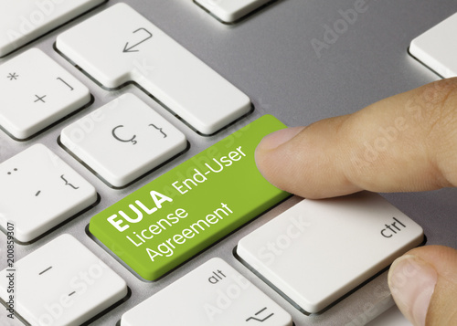 Eula End User License Agreement Buy This Stock Photo And Explore