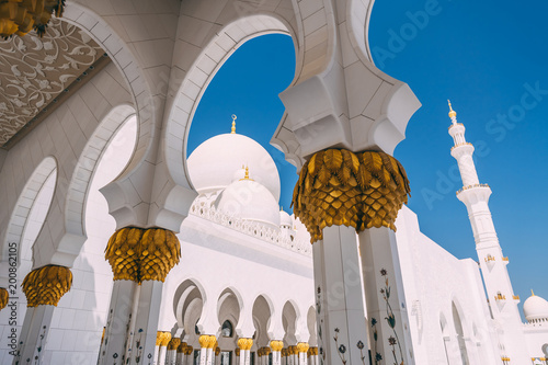 Photo  Abu Dhabi grand Mosque