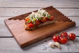 Tasty tomatoes bruschetta - 200875350