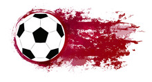 Illustration Of A Soccer Ball ...