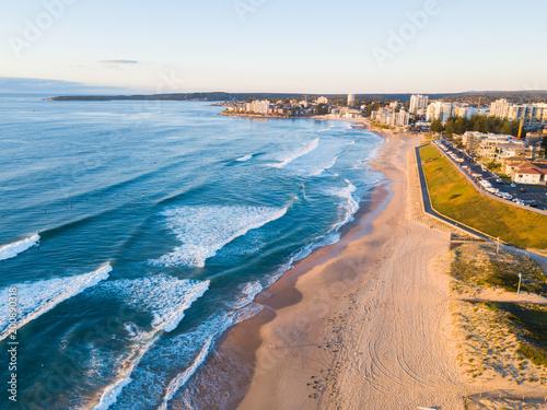 Fotografía  Aerial view of Cronulla, Sydney coastline.