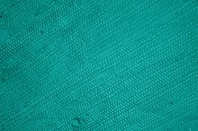 Blau Grüne Grobe Stofftextur ...