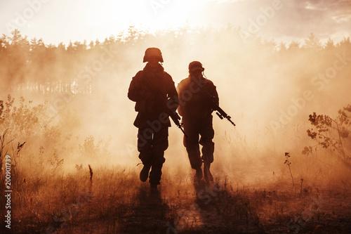 marines-stanow-zjednoczonych-w-akcji-wojskowy