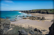 Cornwall beach on a summer day England