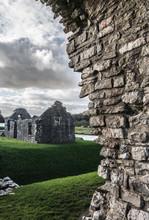Ogmore Castle, Glamorgan, Wales