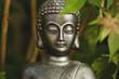 Gautama Buddha garden decoration detail