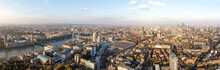 London Aerial Panorama View Fe...