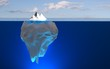 Eisberg / Spitze des Eisbergs
