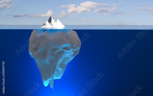 Fototapeta Eisberg / Spitze des Eisbergs