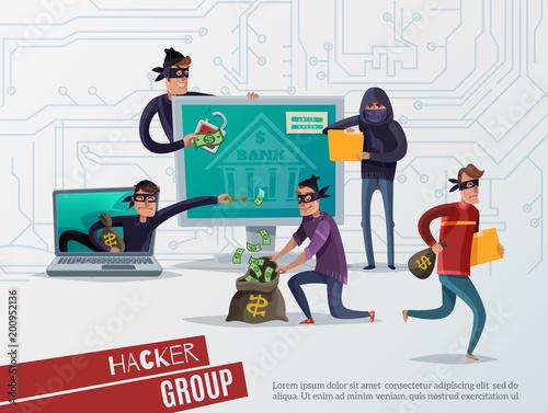 Fotografía  Internet Hacker Composition