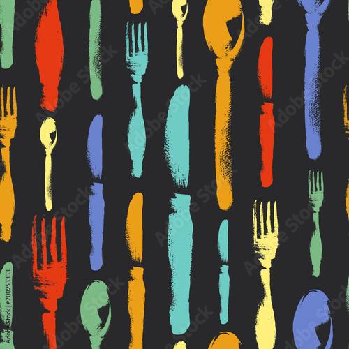 bezszwowy-wzor-lyzki-noz-rozwidlenie-malowal-kolorowym-pisze-kreda-na-blackboard-menu-restauracja-srebro-stolowe