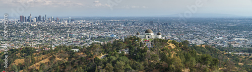 Fotografía Los Angeles Panorama from Hollywood Hills, Griffith Observatory