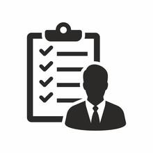Checklist Icon, Candidate Appr...