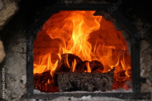 In de dag Vuur / Vlam Forno a legna