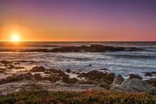 Colorful Sunset At Carmel Shor...