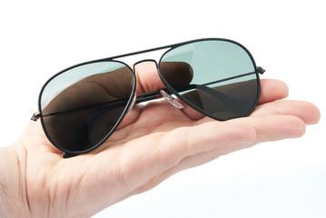 Hand hold polarized sunglasses