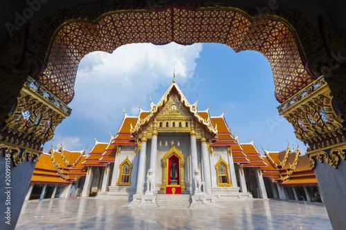 Foto op Plexiglas Bedehuis Wat Benchamabophit Dusitvanaram or