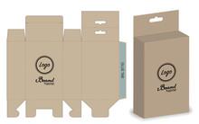 Box Packaging Die Cut Template...