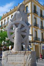 Sculpture Dedicated To Sailors...