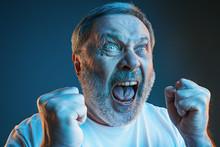 The Senior Emotional Angry Man...