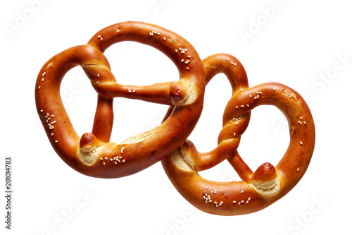 German Soft Pretzel Wallpaper Mural