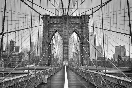 Tuinposter Brooklyn Bridge Brooklyn bridge of New York City