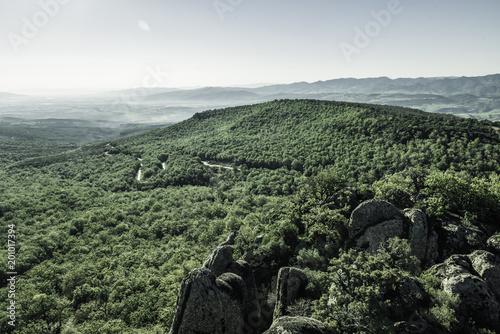 Tuinposter Khaki Mountain, landscape