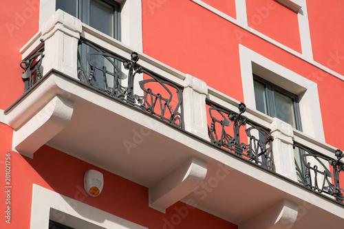 Photo balcone liberty