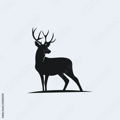 Fotografie, Obraz  deer vector illustration