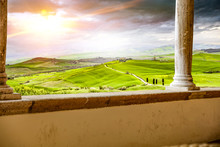 Tuscany Background And Free Sp...