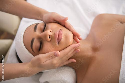 Fotografie, Obraz  Facial procedure