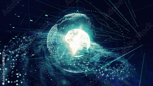 Papiers peints Univers グローバルネットワーク