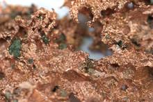 Copper Metal Mineral Texture