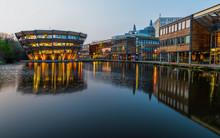 Nottingham, England - April 17, 2018: Modern Building At University Of Nottingham.