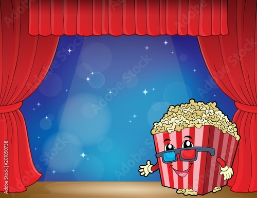 For Kids Stylized popcorn theme image 3
