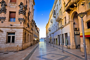 Fototapeta City of Split architecture view in Marmontova street