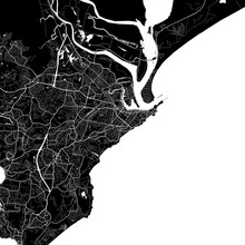 Area Map Of Newcastle, Australia