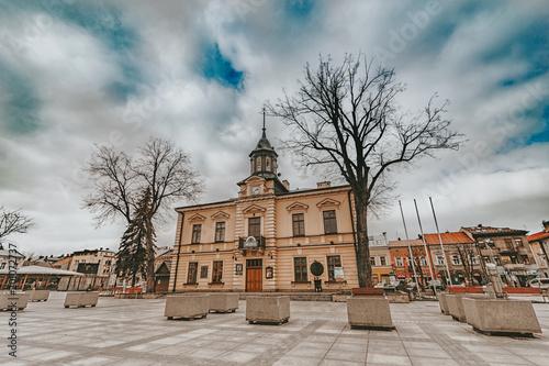 Ratusz Nowy Targ - fototapety na wymiar